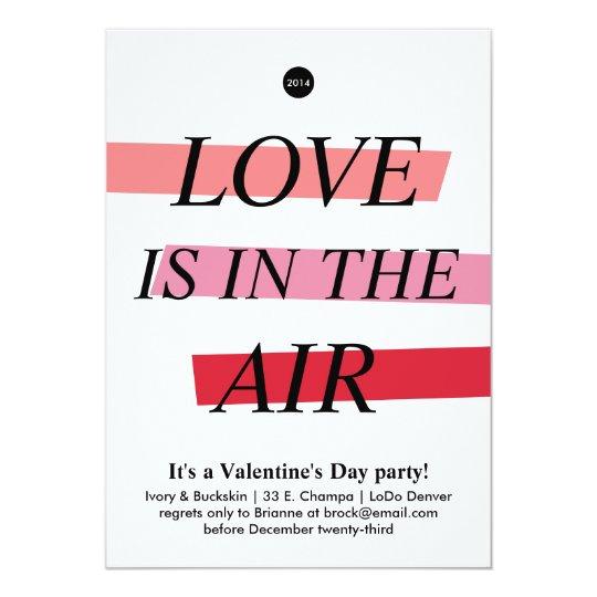 Bold and Bright Valentine's Day Party Invitation