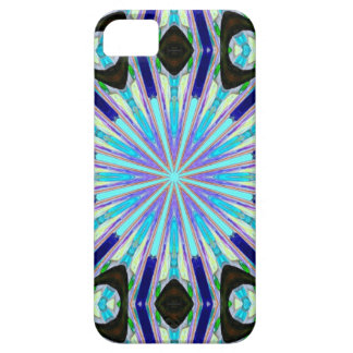 bold and colorful exploding blue star case
