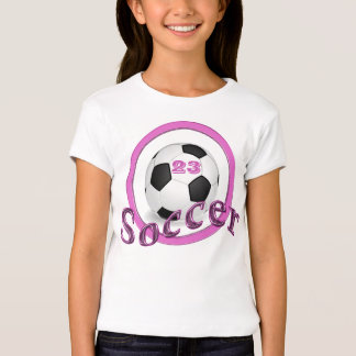 Bold and Cute Soccer T Shirts for Girls