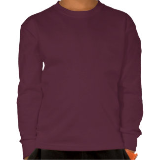 """""""Bold and Strong"""" Quote Boy's Long Sleeve T-Shirt"""