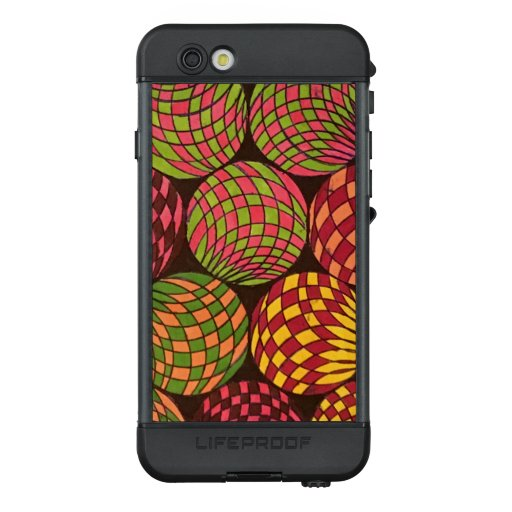Bold and Vibrant Colored Orb Design LifeProof NÜÜD iPhone 6s Case