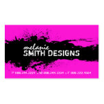 Bold and Vibrant Grunge Business Card