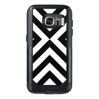 Bold Black and White Chevrons Case