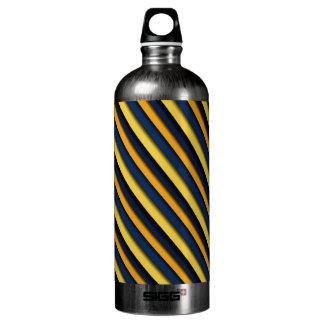 Bold & Blue Stripes Liberty Aluminum Water Bottle