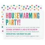 Bold Bright Color Housewarming Party Invitation