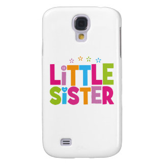 Bold, Bright &Colorful Little Sister Galaxy S4 Cover