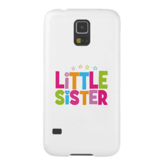 Bold, Bright &Colorful Little Sister Galaxy S5 Covers