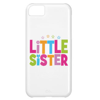 Bold, Bright &Colorful Little Sister iPhone 5C Cases