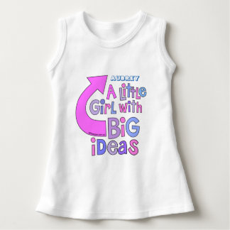 Bold Bright Colorful Text | 'Big Ideas' Design Dress