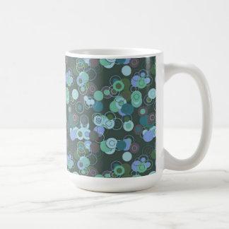Bold Bright Digital Art Abstract Classic White Coffee Mug