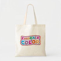 Bold Bright Embrace Color Motto Tote Bag