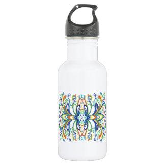 Bold, Bright Graffiti Doodle 18oz Water Bottle
