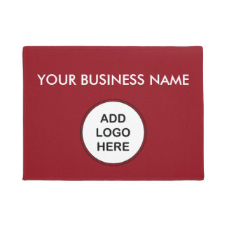 Bold Business Logo Welcome Mats