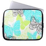 Bold Butterflies Laptop Sleeves