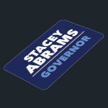 """Bold car magnet - Stacey Abrams for GA Governor<br><div class=""""desc"""">Show your support for Stacey Abrams with this flexible car magnet. The official campaign isn&#39;t offering magnets,  so we made one. All proceeds will be donated to the campaign every two weeks until voting day! Place those orders today!</div>"""