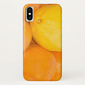 Bold Citrus Colors iPhone X Case