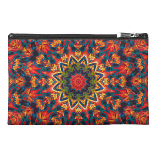Bold Color Burst Travel Accessories Bags