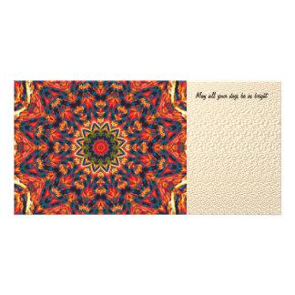 Bold Color Burst Card