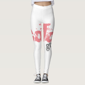 Bold Color Guard Leggings fully Customizable