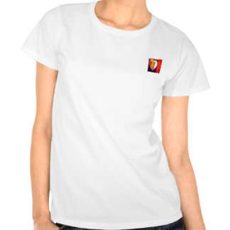Bold Colorful LOVE  Abstract Valentines Tshirt