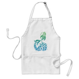 Bold Colorful Summery Fancy Fish Tees and Gifts Apron