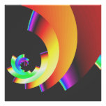 bold colorful vibrant abstract wall art art photo