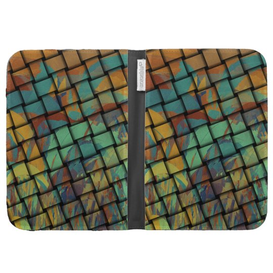 Bold Colors on Weave Cases For The Kindle