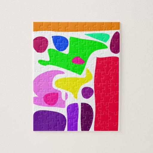 Bold Colors Puzzle
