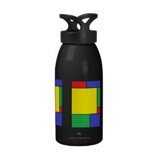 Bold Colors Water Bottle