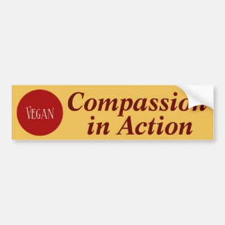 Bold Compassion in Action Bumper Sticker