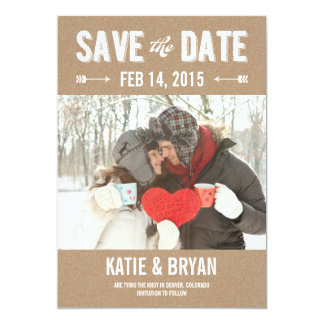 Bold & Crafty Save The Date Cards