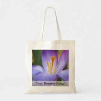Bold Crocus Bloom Tote Bag