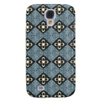 bold damask Pern 3 casing Galaxy S4 Case