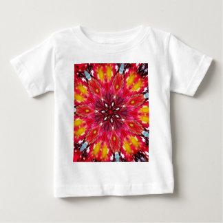 Bold Daring Flame Kaleidoscope Baby T-Shirt