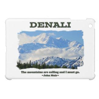 Bold Denali / The mountains are calling…J Muir iPad Mini Cover