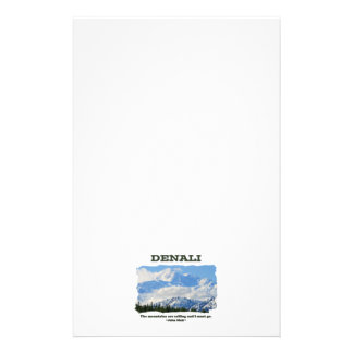 Bold Denali / The mountains are calling…J Muir Stationery