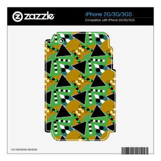 Bold Digi-crazed Skins For iPhone 3G