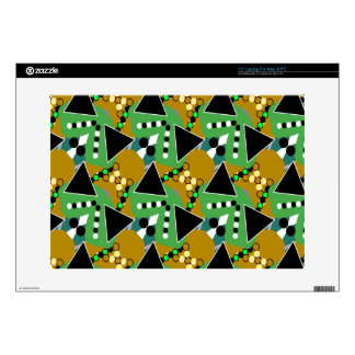 "Bold Digi-crazed 15"" Laptop Skin"