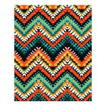 Bold Ethnic Native Tribal Pattern Flyer