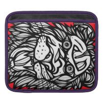 Bold Exciting Cute Animal Sleeve For iPads