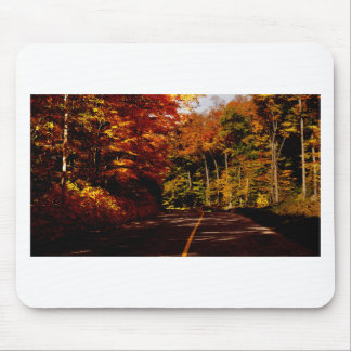 Bold Fall Colours on St Joseph Island Mouse Pad