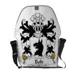 Bold Family Crest Messenger Bag