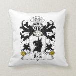 Bold Family Crest Pillow