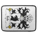 Bold Family Crest Sleeves For MacBook Pro