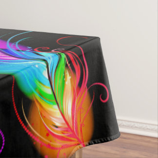 Bold Feather Tablecloth