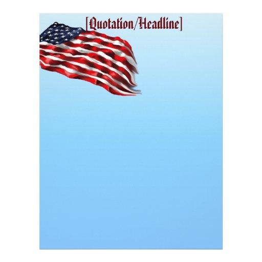 Bold Flag2 letterhead_vertical, Letterhead
