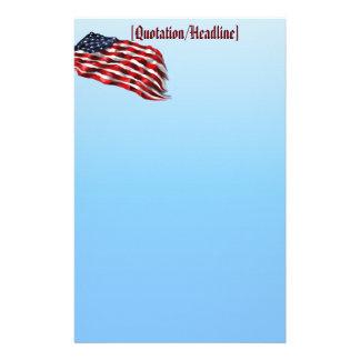 Bold Flag2 stationary, Stationery
