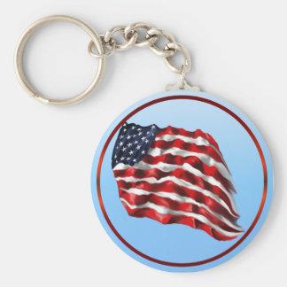 Bold Flag-Keychains Basic Round Button Keychain