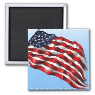 Bold Flag_Magnet 2 Inch Square Magnet