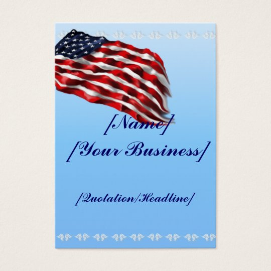 Bold Flag profilecard_chubby_vertical Business Card